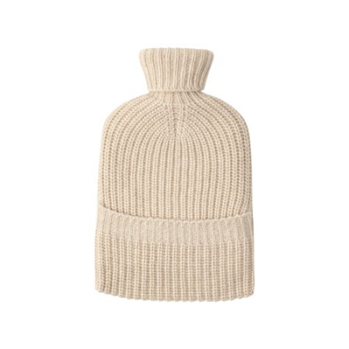Cashmere Ribbed Hot Water Bottle