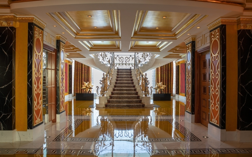 Royal Two-Bedroom Suite - Burj Al Arab Jumeirah - The Most Expensive Hotels Rooms Around the World - LuxDeco Style Guide