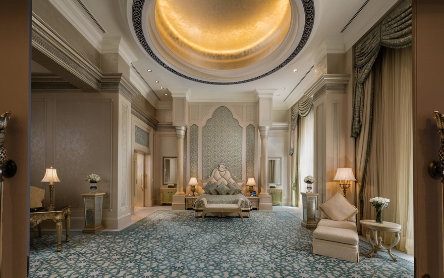 Palace Suite - Kempinski Emirates Palace - The Most Expensive Hotels Rooms Around the World - LuxDeco Style Guide
