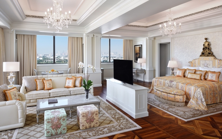 Imperial Suites - Palazzo Versace - The Most Expensive Hotels Rooms Around the World - LuxDeco Style Guide