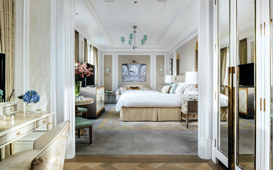 Sterling Suite - The Langham - The Most Expensive Hotels Rooms Around the World - LuxDeco Style Guide